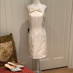 NEW LILLY PULITZER RACERBACK SHEATH DRESS IN WHITE